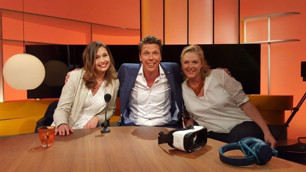 Founder Marijke Sjollema in the talkshow Bynt