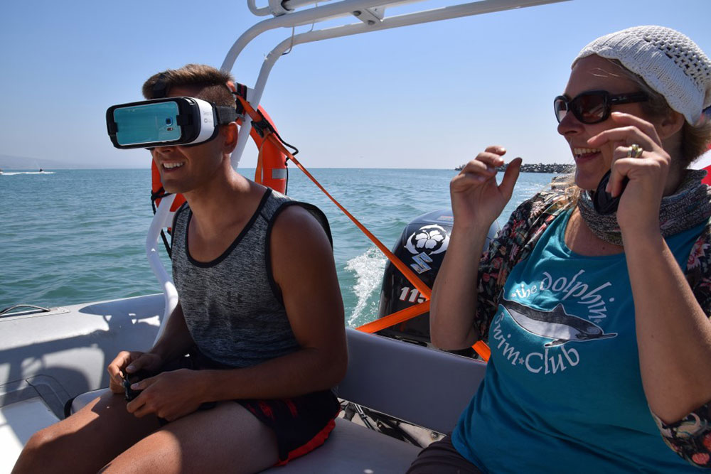 VR aboard